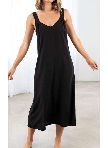 Love Stitch Open Up Midi Dress