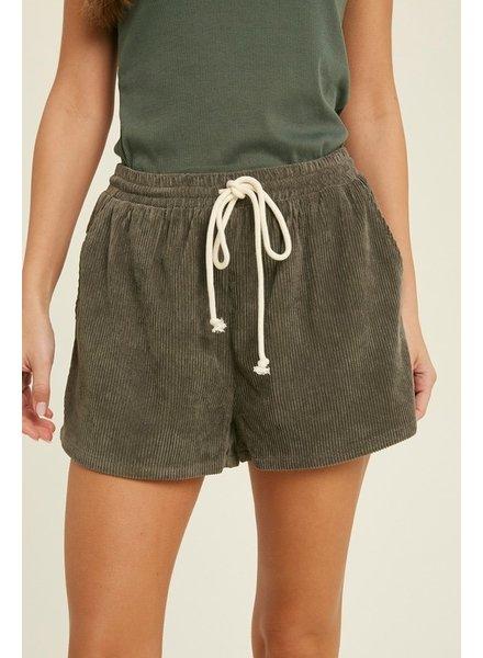 Cookout Corduroy Shorts