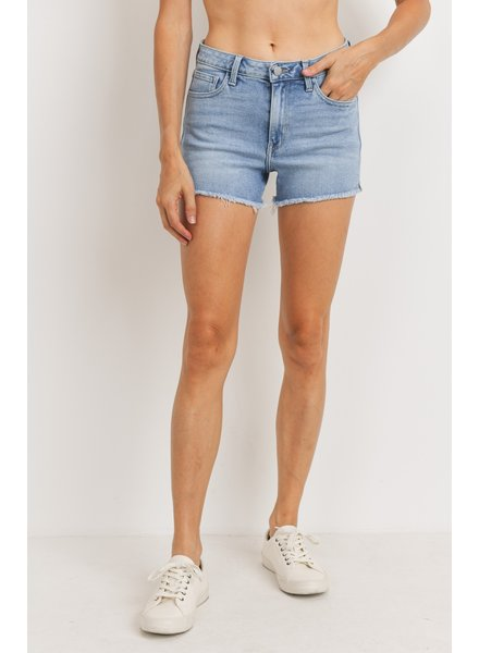 Just Black Denim Out Of Town Shorts