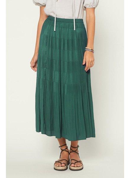 Current Air Estelle Emerald Skirt