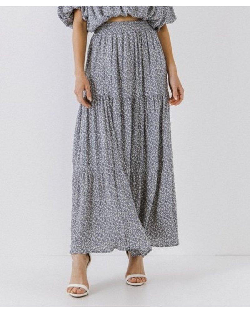 2.7 August Apparel Fluff Up Skirt