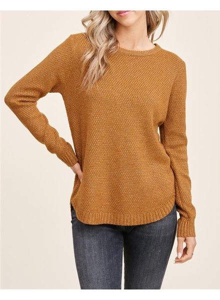 Highs And Lows Knit Top