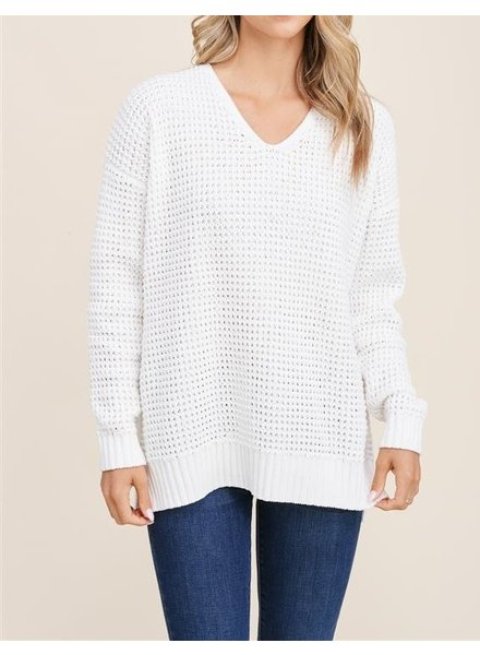 Learn To Fly Chenille Sweater