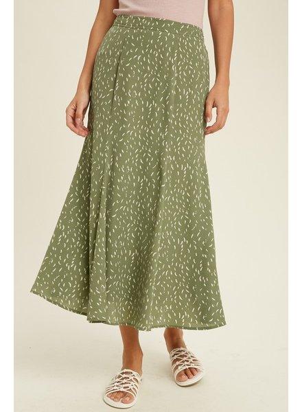Get The Green Light Skirt