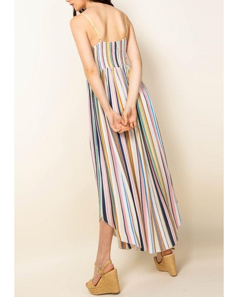 THML Clothing Rock Skipping Midi Dress
