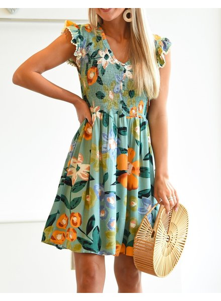THML Clothing Seize The Breeze Dress