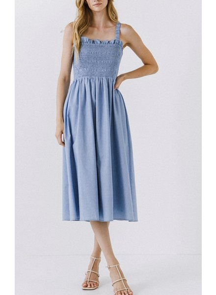 2.7 August Apparel Under The Shade Tree Dress