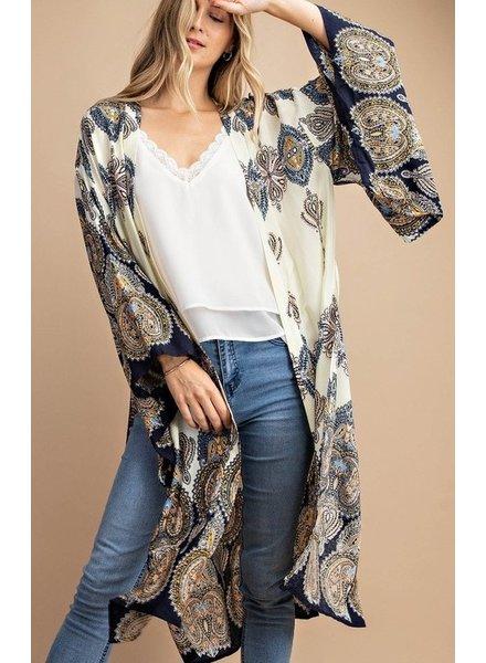 Kori America Patricia Paisley Kimono