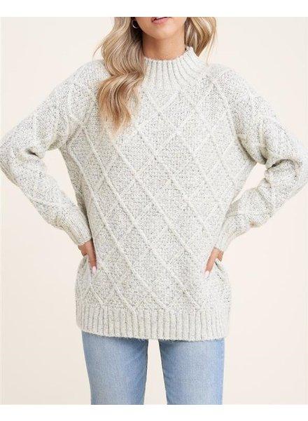 Chunky Chain Link Sweater