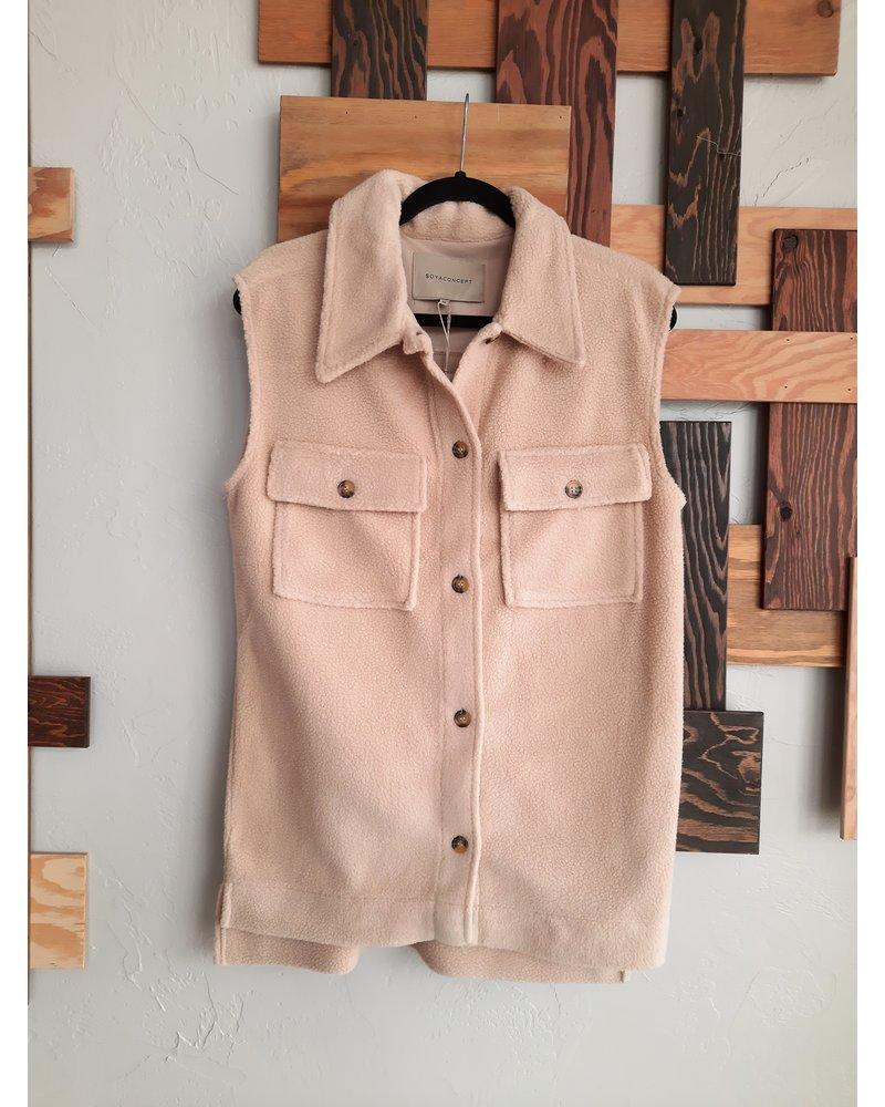 Soya Concept Teddy Bear Button Vest