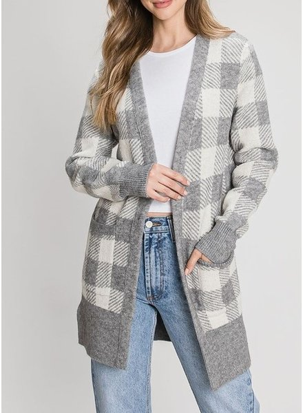 Be Cool Keep In Check Cardigan