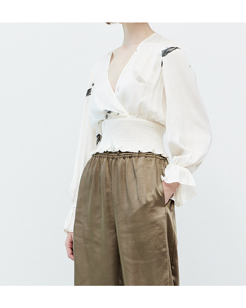 Grade and Gather What A Surplice Blouse