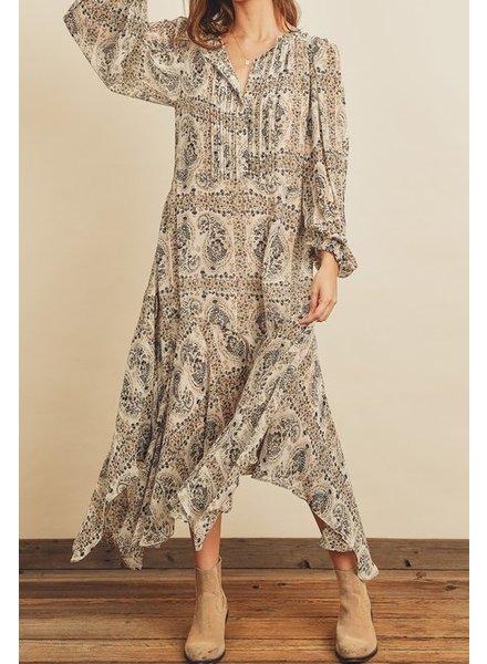 Dress Forum Handkerchief Paisley Dress