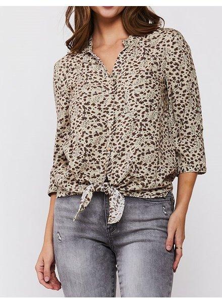 Palila Cheetah Blouse