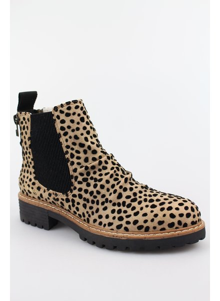 Pixie Leopard Chelsea Boot