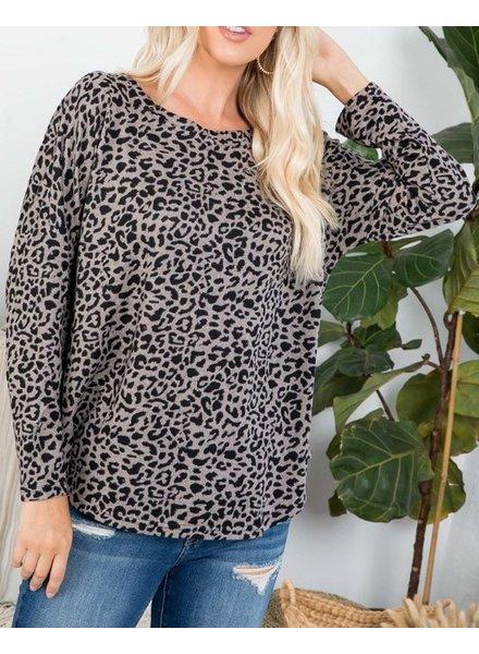 Zia Inner Cheetah Tunic Top