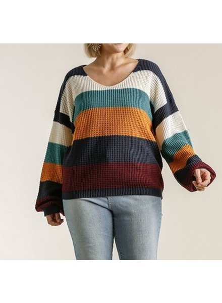 Umgee Block On! Sweater