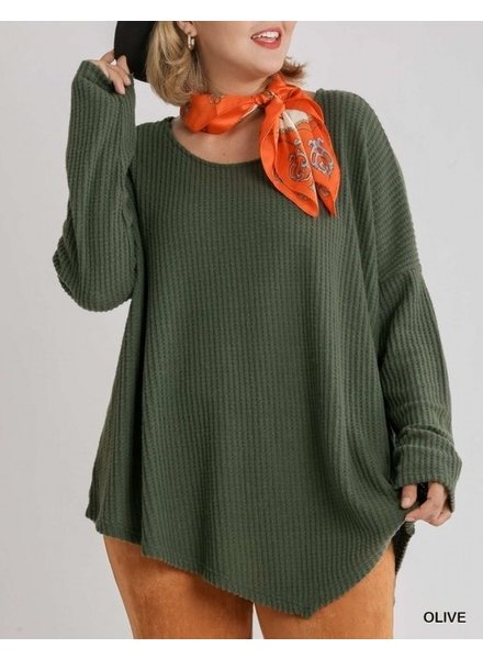 Umgee Olive It Up Pullover