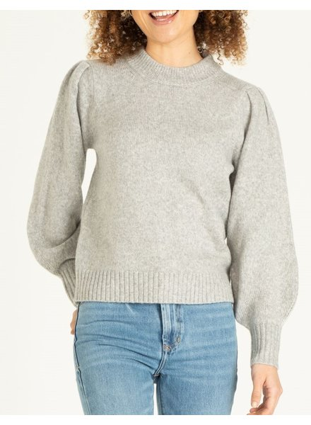 Violet Puff Pullover