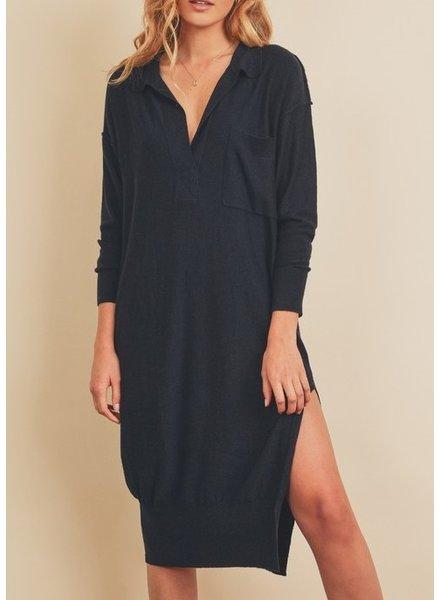 Dress Forum Knit As A Fiddle Polo Dress