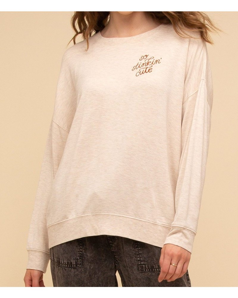So Stinkin Cute Pullover