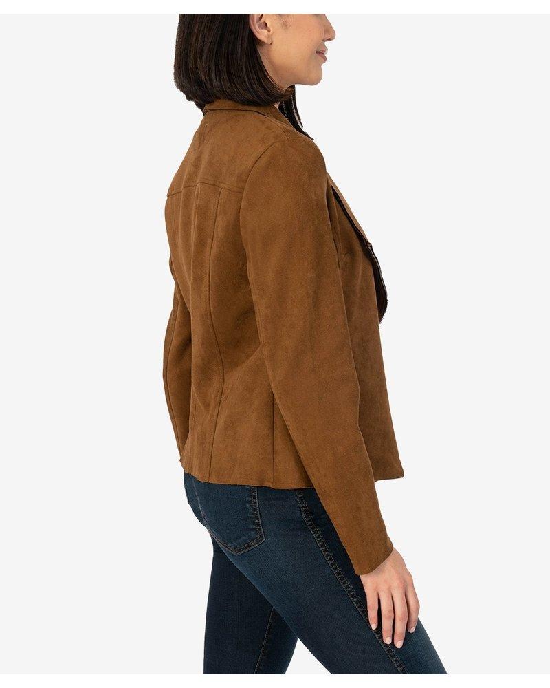 KUT From The Kloth Brandy Bonded Drape Jacket