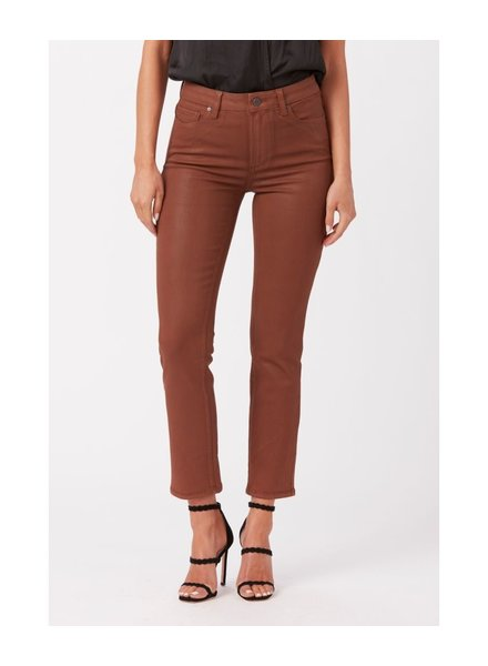 Paige Cindy Cognac Luxe Ankle Straight