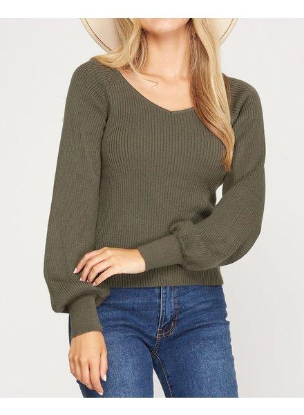 On Cloud Pine Sweater
