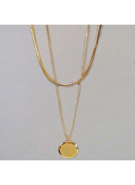 Locket Layer Necklace