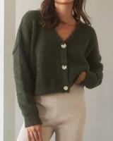 Melina Fuzzy Cardigan