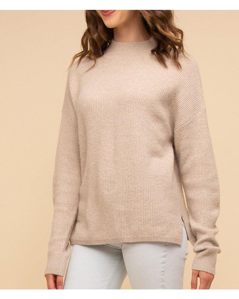Natalie Mock Neck Sweater