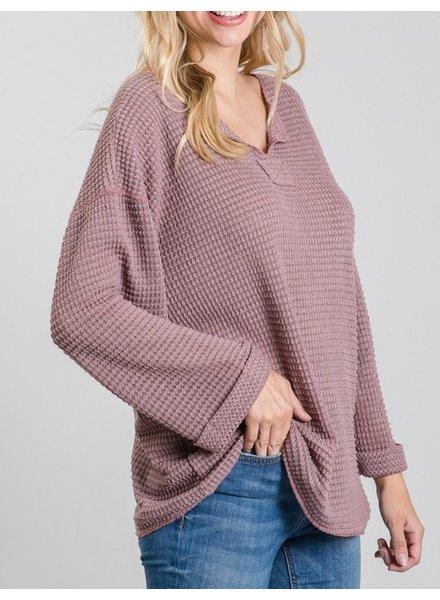Jodifl Fantastical Fold Neck Pullover