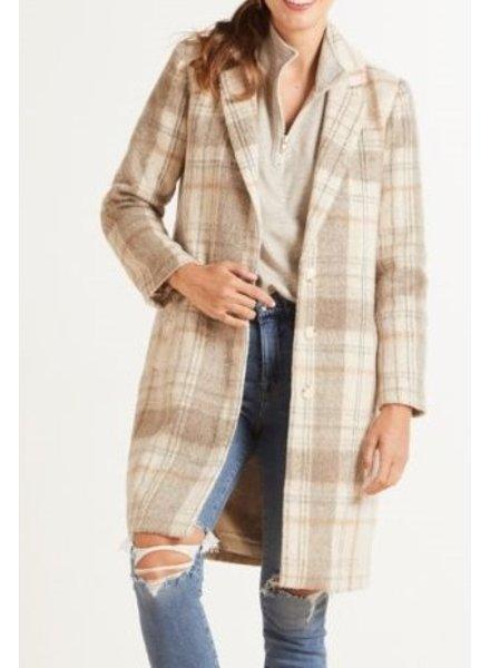 Plaid To Be Said Coat