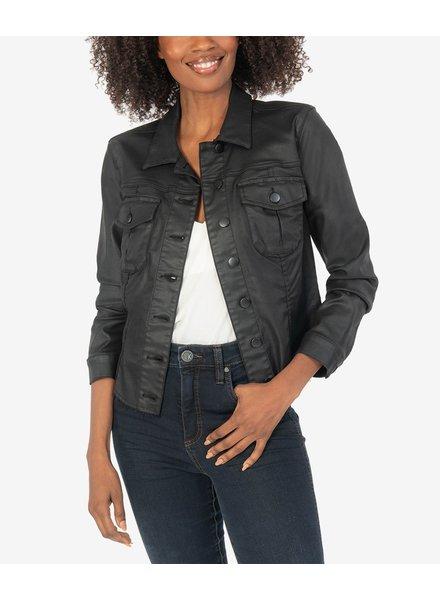 KUT From The Kloth Kara Vegan Leather Jacket