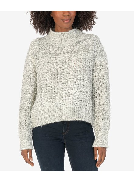 KUT From The Kloth Leona Ribbed Turtle Neck