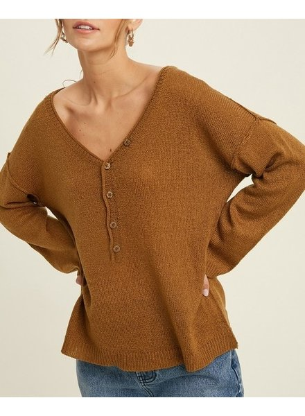 Queen Bee Button Sweater