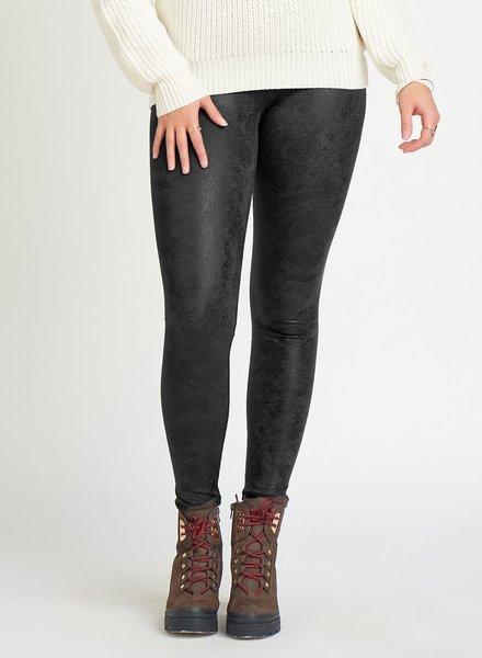 Dex Crackle Leather Legging