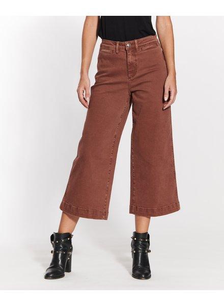 OAT New York Clean Sweep Wide Leg Pants Mocha