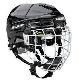 BAUER RE-ATL100, Youth, Hockey Helmet with Cage