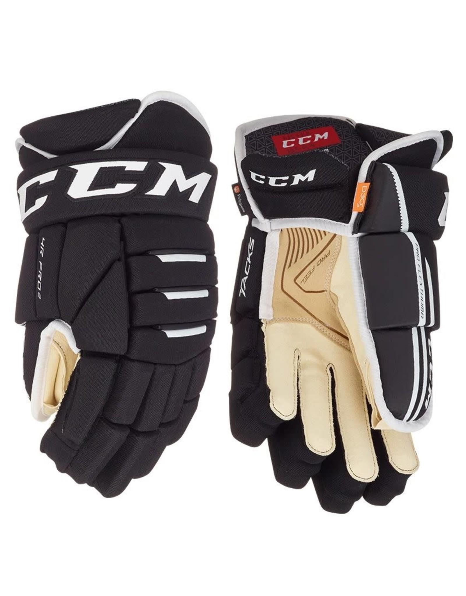 CCM Tacks 4 Roll Pro 2, Senior Hockey Gloves