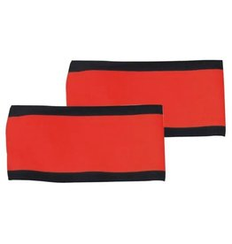 CCM Red Referee Arm Band Set, Pair