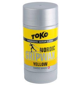 TOKO Nordic GripWax Yellow, 25g