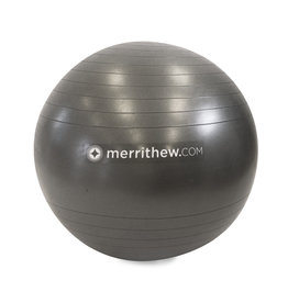 MERRITHEW Ball - Stability Ball™ Plus 75cm (gray) with pump