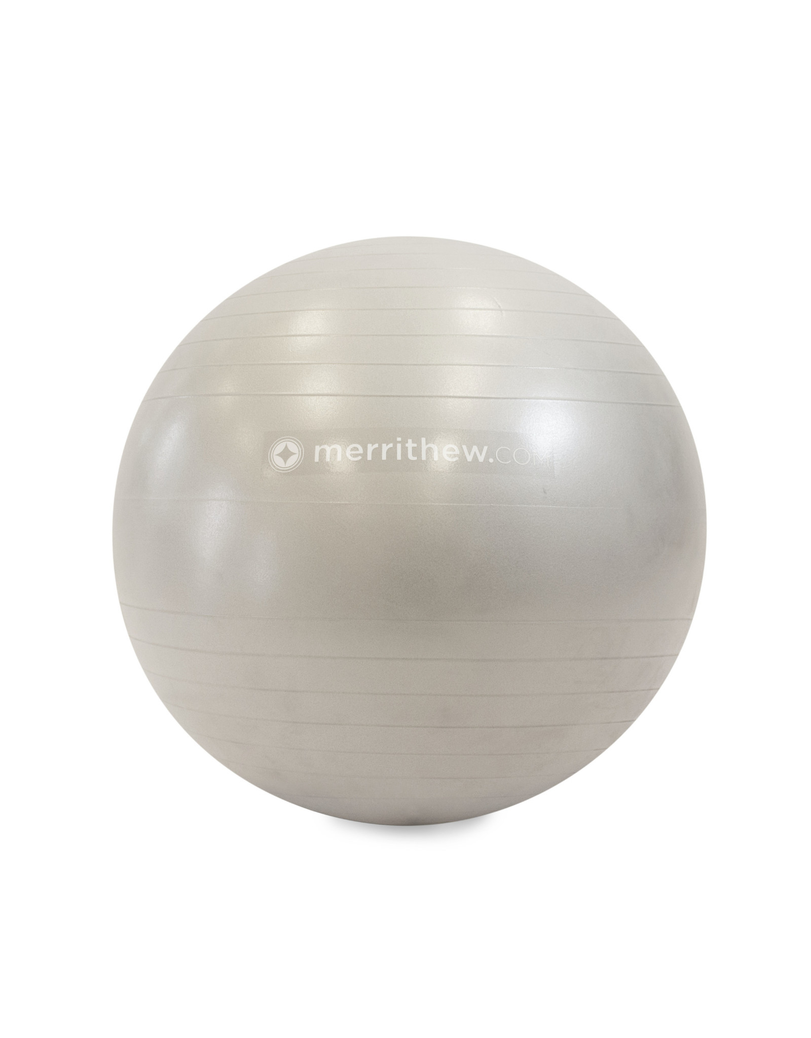 MERRITHEW Ball - Stability Ball™ Plus 65cm (silver) with pump