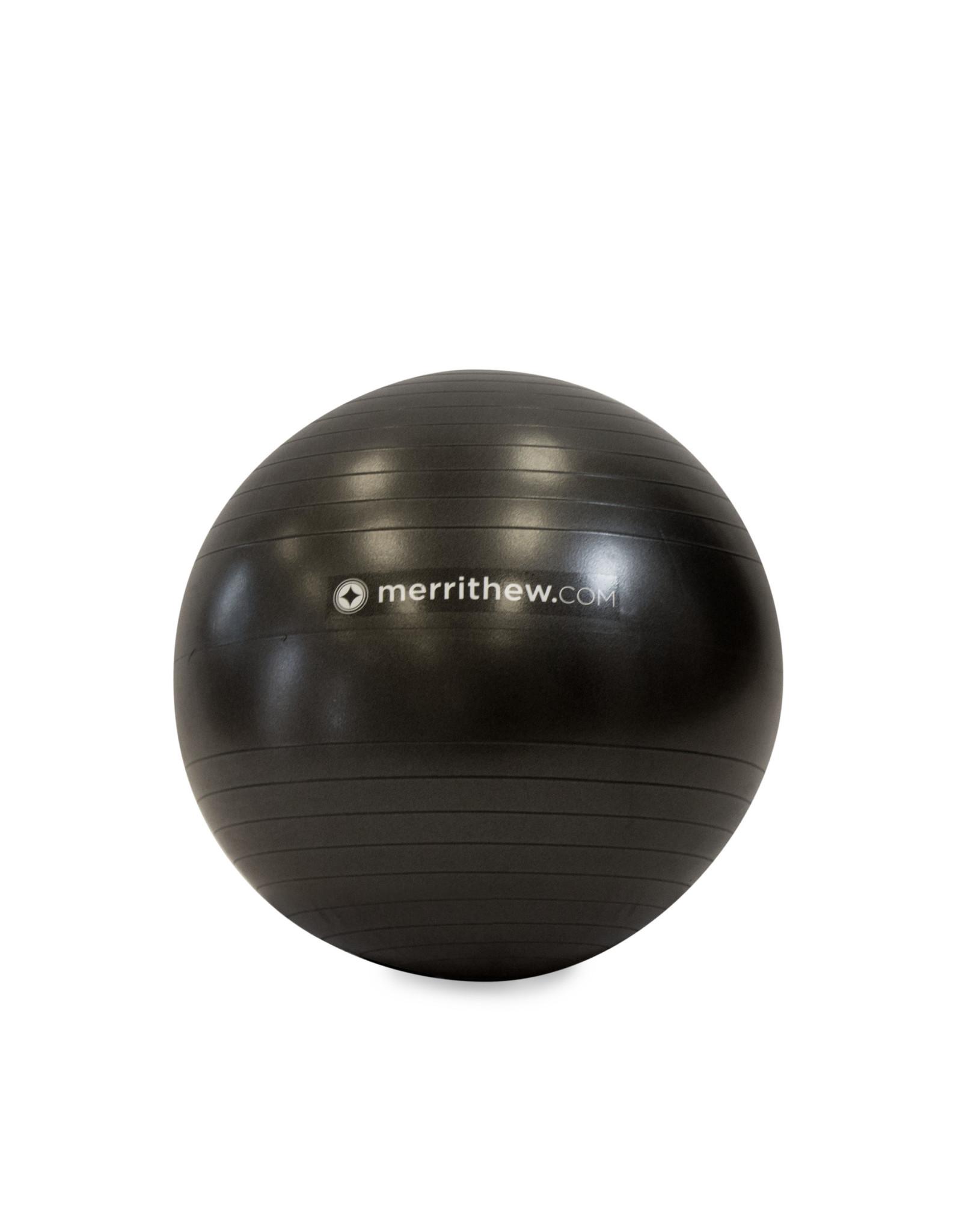 MERRITHEW Ball - Stability Ball™ Plus 55cm (black) with pump