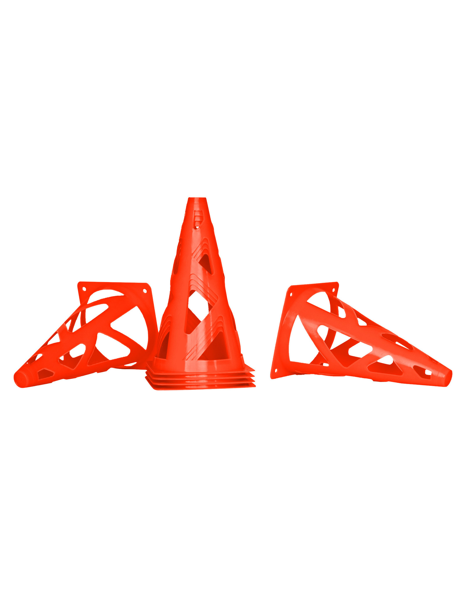 MERRITHEW Agility - Collapsible Training Cones, tall, 6 - pcs