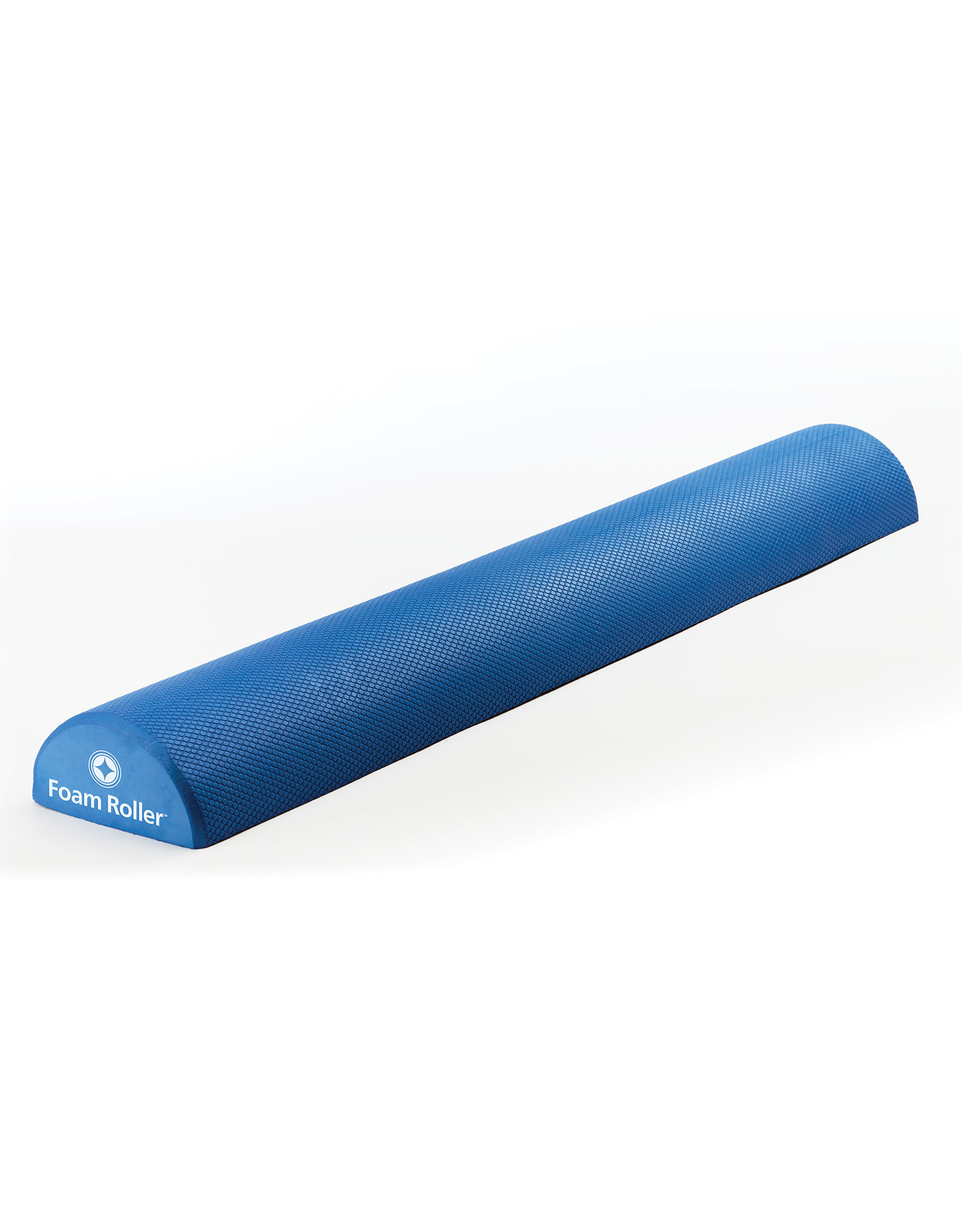 "MERRITHEW Foam Roller™, Soft Density, HALF  -  36"" (blue)"