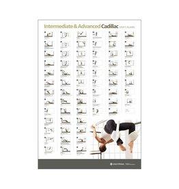 MERRITHEW Ed Aid - Wall Chart - Intermediate/Advanced Cadillac