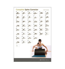 MERRITHEW Ed Aid - Wall Chart - Spine Corrector - Complete