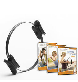 MERRITHEW Fitness Circle Pro 12 inch & Fitness Circle Series 3 DVDs